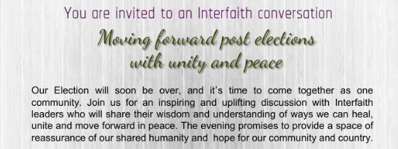 Moving Forward Post Elections with Unity & Peace
