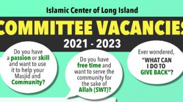ICLI Committee Vacancies 2021-2023