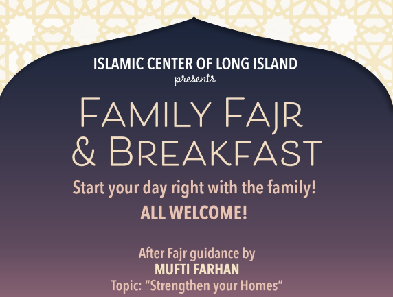 Family Fajr and Breakfast