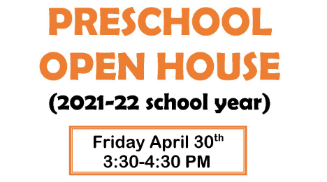IC Kids Preschool Open House