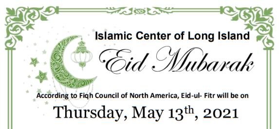 Eid Mubarak! Eid Salah At ICLI