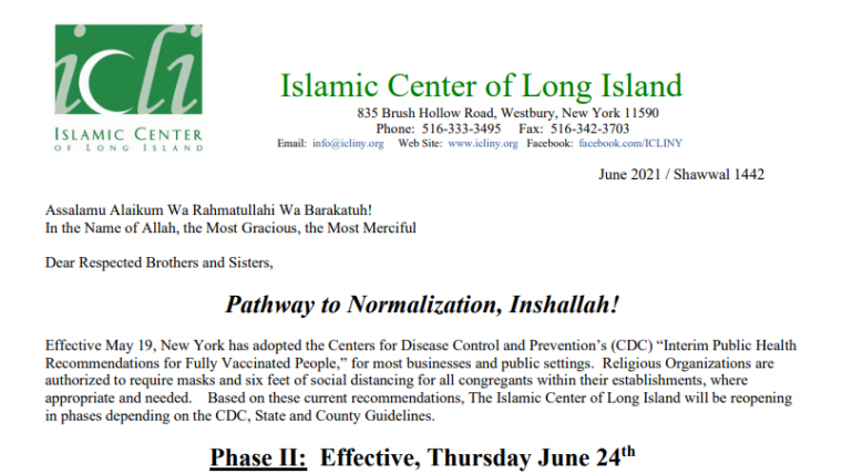 Pathway to Normalization Phase II