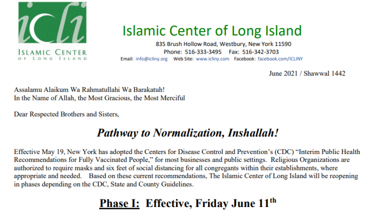 Pathway to Normalization