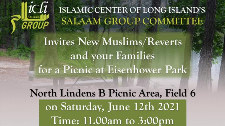 Salam Group Picnic at Eisenhower Park