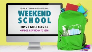 Weekend School Registration 2021-2022