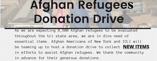 Afghan Refugees- Donation Drive