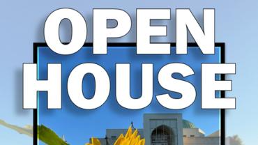 Interfaith OPEN HOUSE on Sunday October 3rd