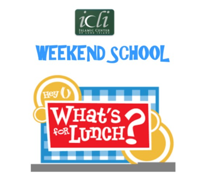 Sign up for Weekend School Lunch